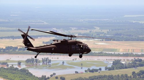 small resolution of a louisiana national guard uh 60 black hawk is used to assess flooding on june