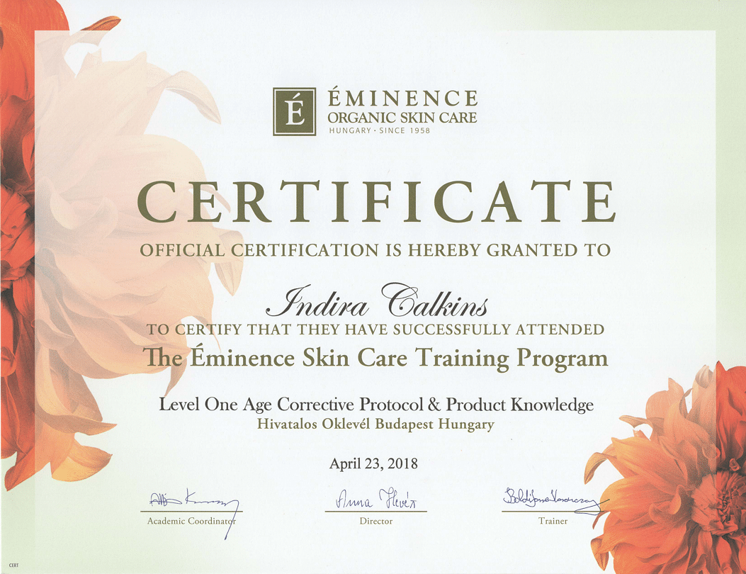 Eminence Skin Care Products