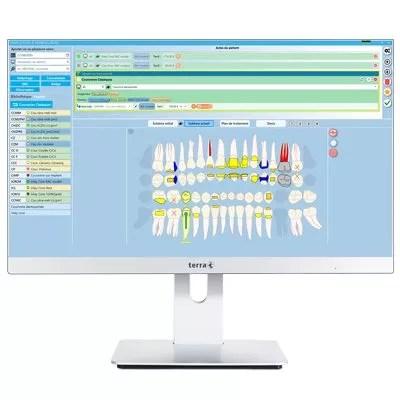 logiciel dentiste julie solution interface