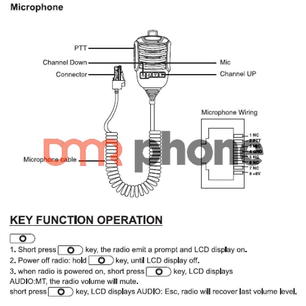 k40 mic wiring diagram