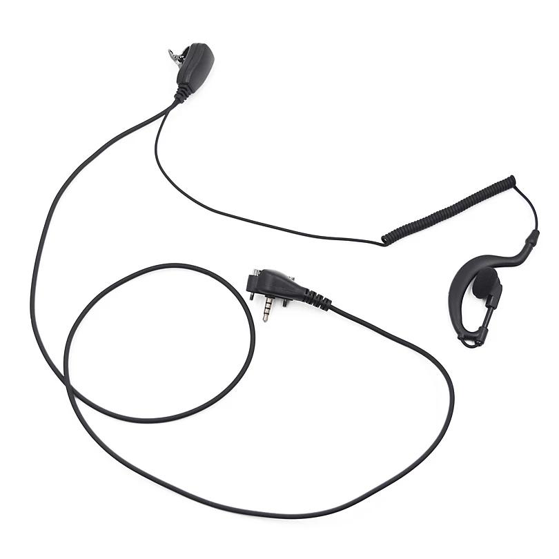 Vertex Standard PTT Earhook Headset Mic for VX231 VX261