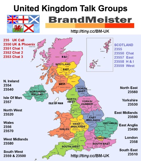 Brandmeister UK Talk Group graphic