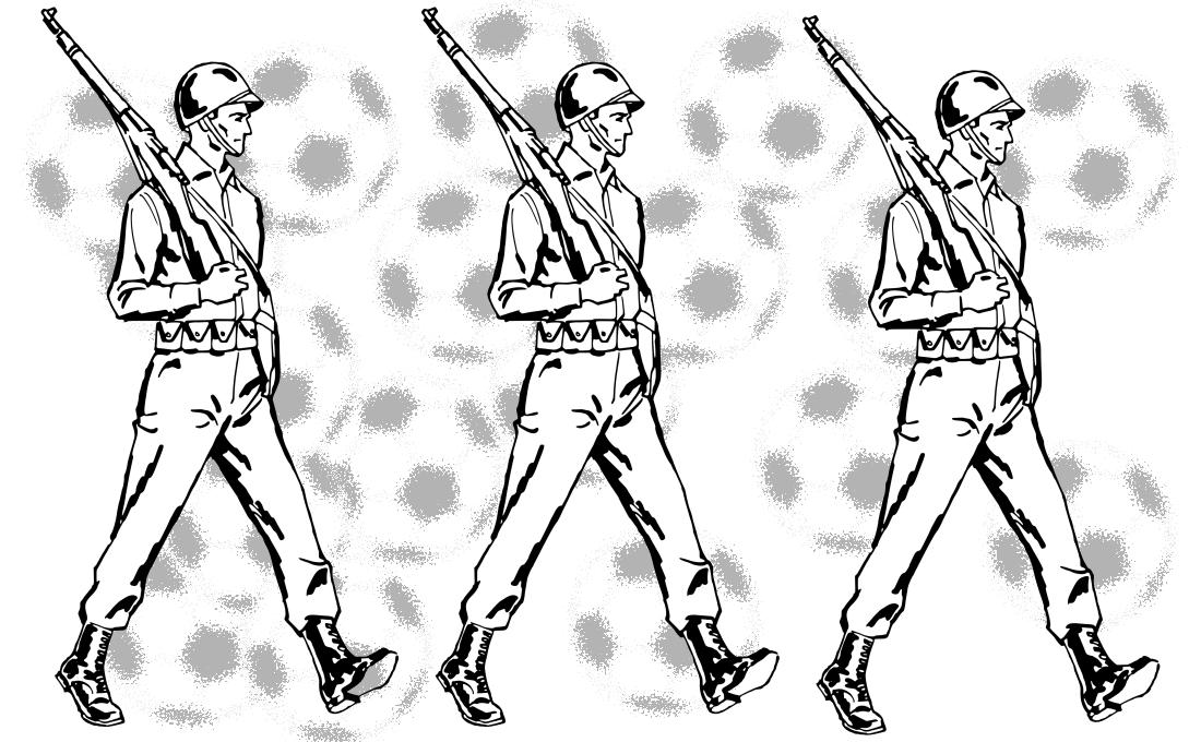 Futbol - Defensa soldados