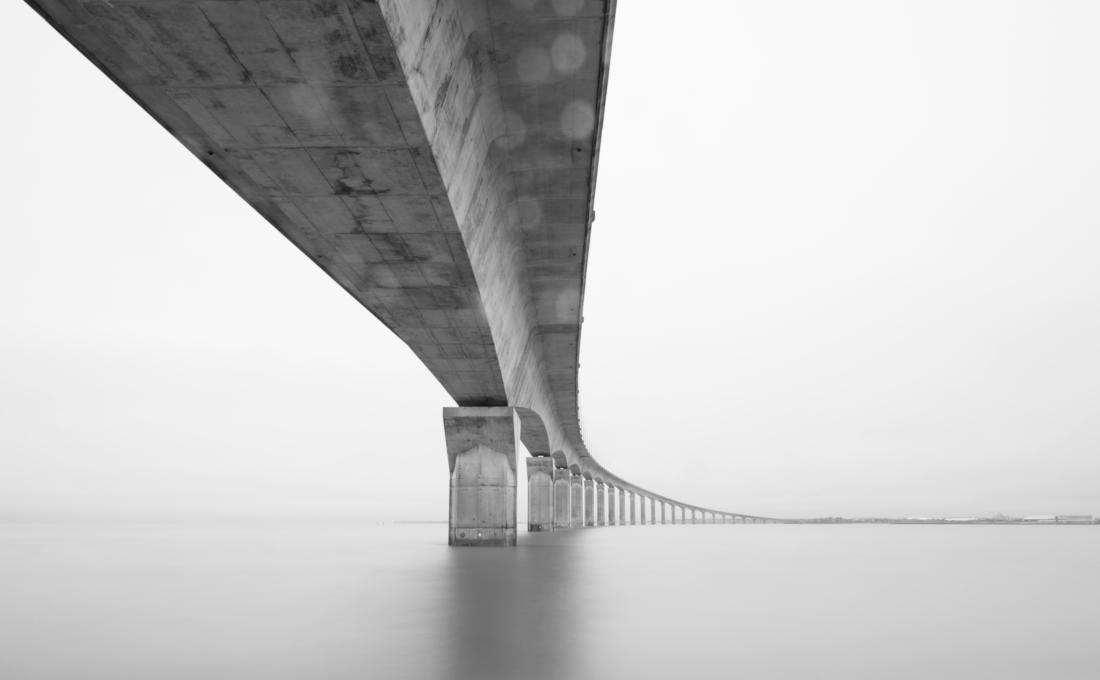 Puente kilométrico.