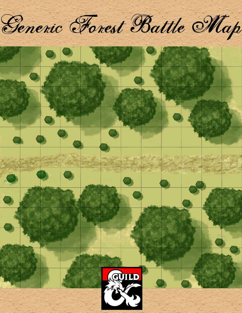 generic forest battle map