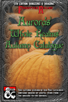 Aurora's Whole Realms Autumn Catalogue