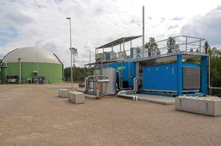 DMT_biogas upgrading Sweden