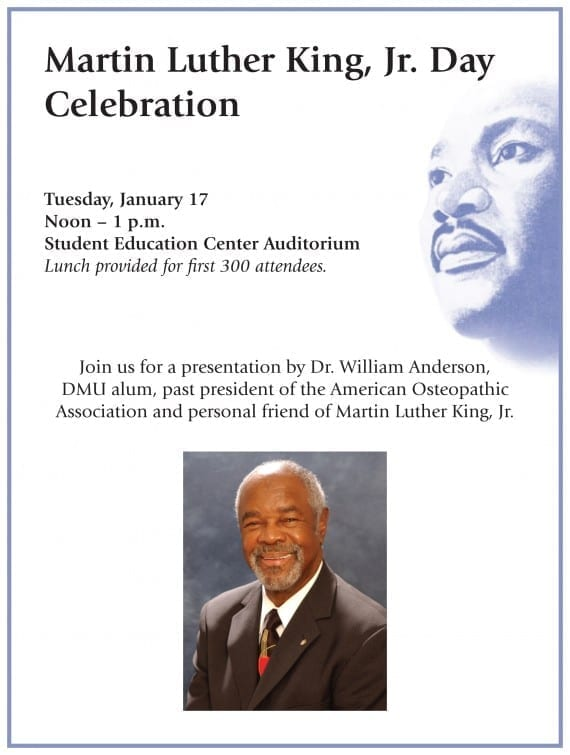 MLK Celebration - Dr. Anderson