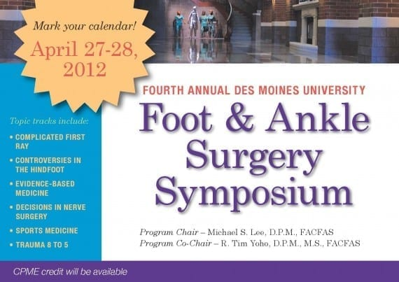 Foot and Ankle Surgery Symposium