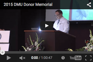 Body Donor Memorial Service 2015