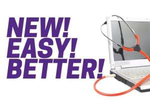 New! Easy! Better!