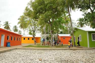 Moving from an earthquake-devastated orphanage in  Port-au-Prince to new earthquake-resistant facilities has transformed these children 's lives and futures.