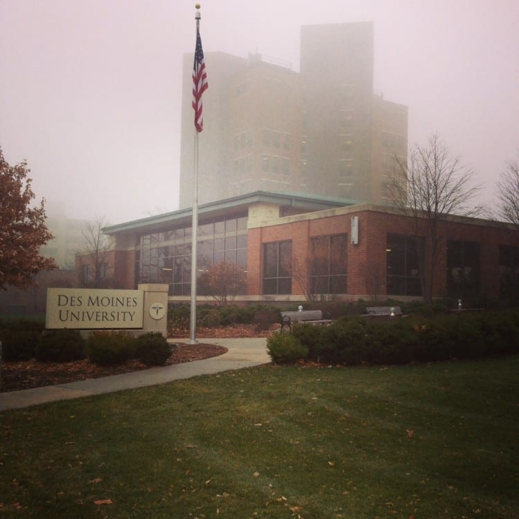 Foggy December morning