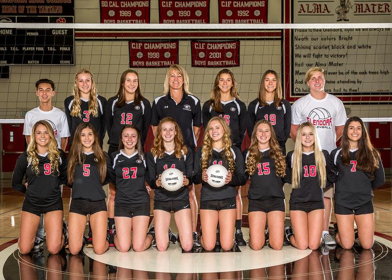 D Munson Photo  Glendora High School Girls Volleyball