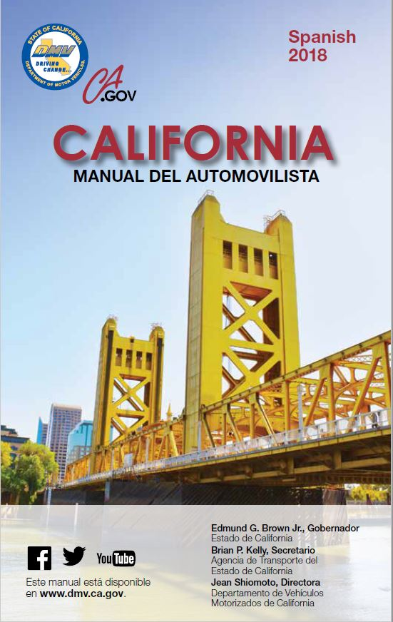 Drivers Dmv Booklet Test Ca