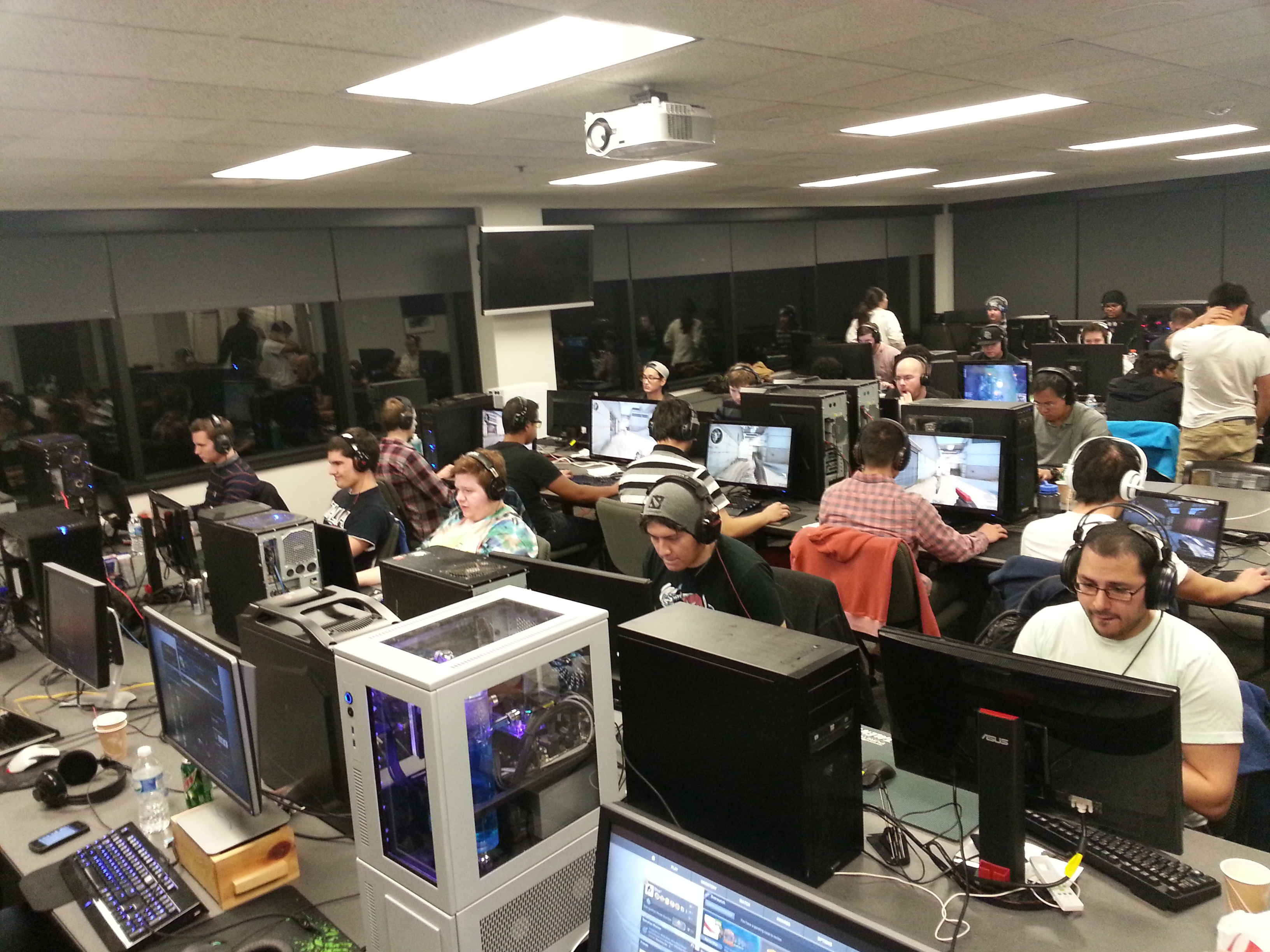 DC esports Lan Party Feb15
