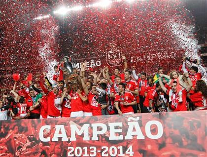 Benfica é campeão nacional pela 33.ª vez