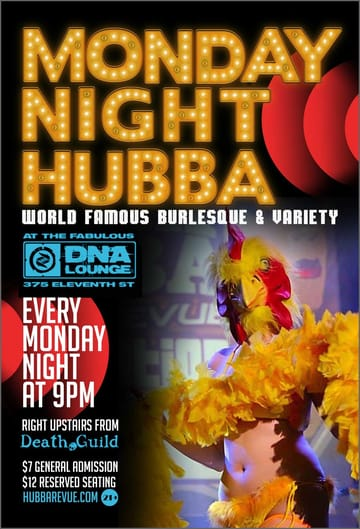 Monday Night Hubba Flyer