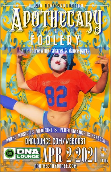 Apothecary Raree: Foolery Flyer