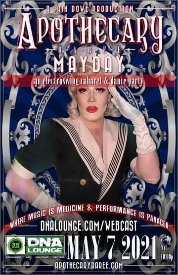 Apothecary Raree: Mayday Flyer