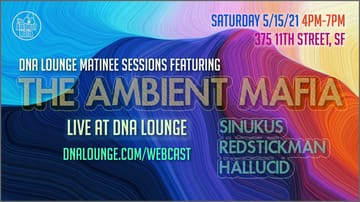 Matinee Sessions: The Ambient Mafia Flyer