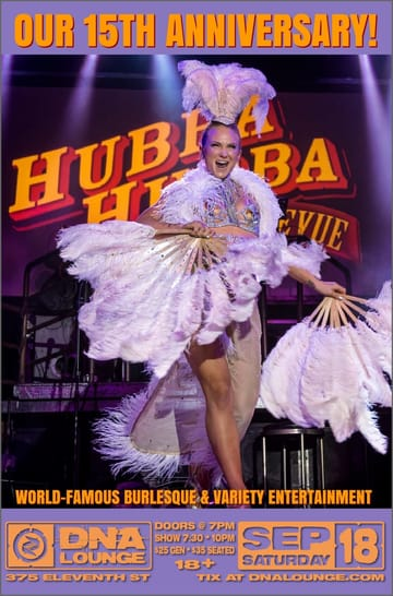 Hubba Hubba Revue Flyer