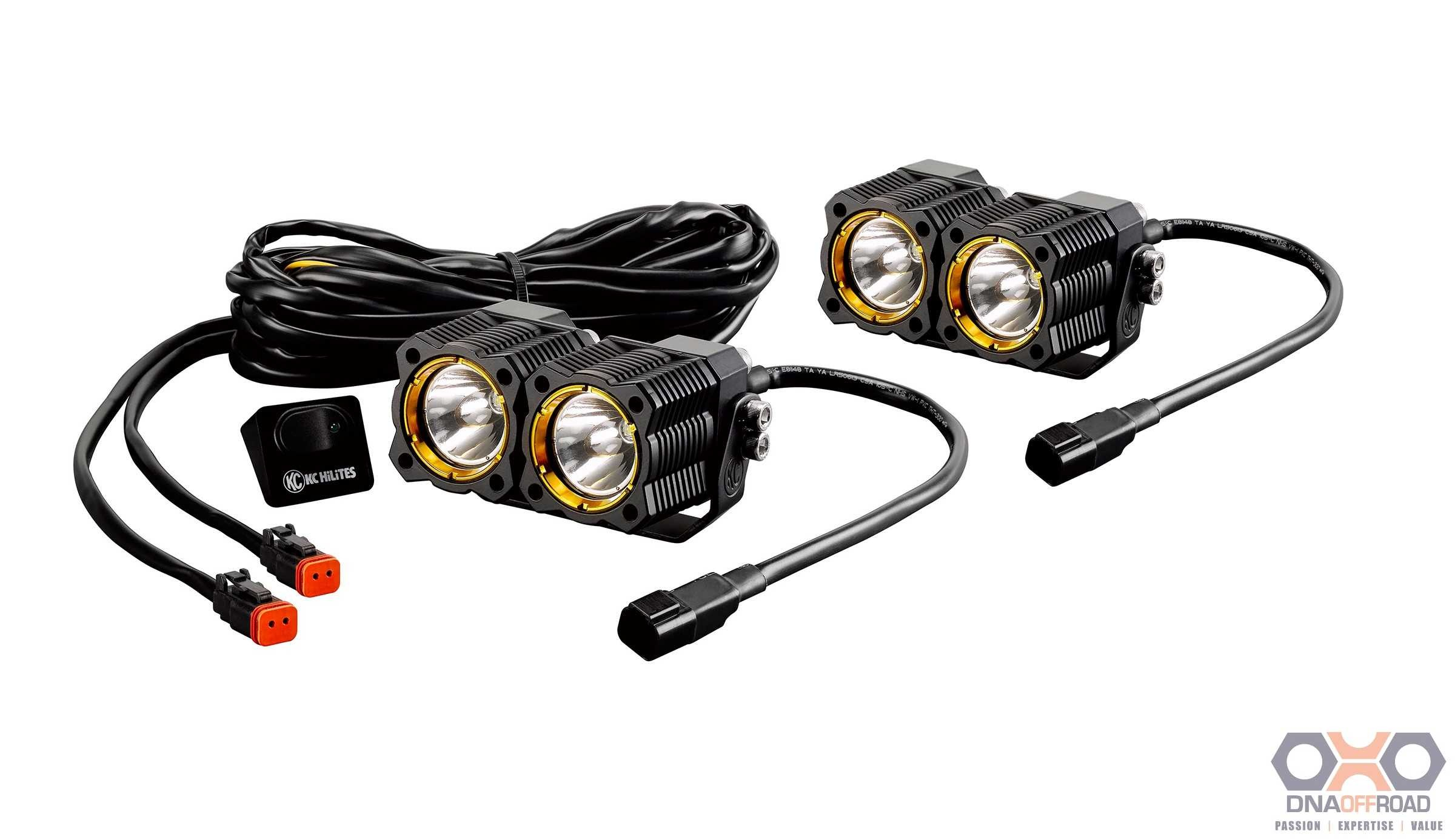 KC HiLiTES FLEX LED dual pair pack system DNA Off Road Pty Ltd