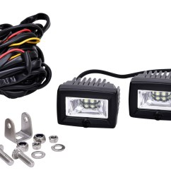 kc hilites 2 c series c2 led area flood light system [ 2370 x 1081 Pixel ]
