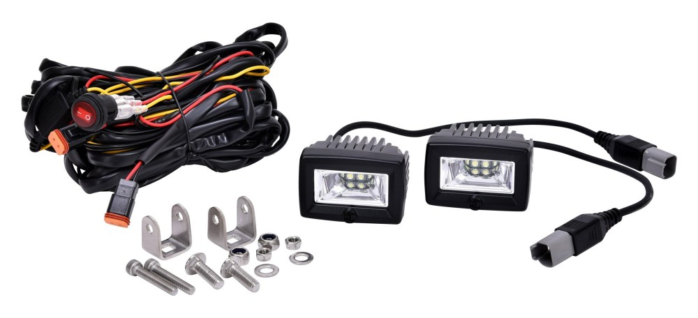 medium resolution of kc hilites 2 c series c2 led area flood light system