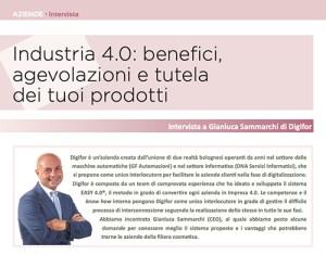 Industria 4.0: benefici, agevolazioni e tutela dei tuoi prodotti