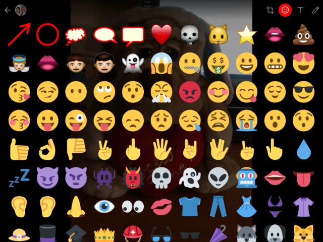 Aggiornamenti di Whatsapp emoticons