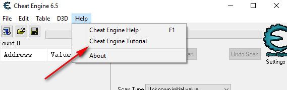 Cheat Engine Tutorial Avvio tutorial