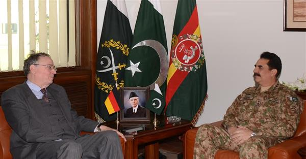 German calls on army chief, discusses regional security: ISPR