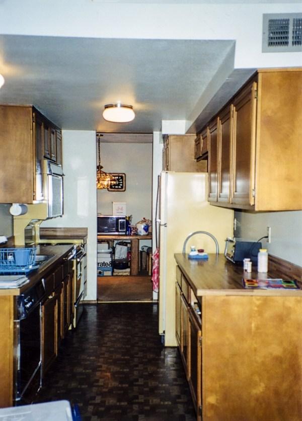 Angled Wall Transforms Corridor Kitchen - Danilo Nesovic