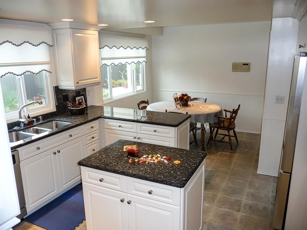 euro style kitchen cabinets black knobs built-in wok - danilo nesovic, designer · builder ...