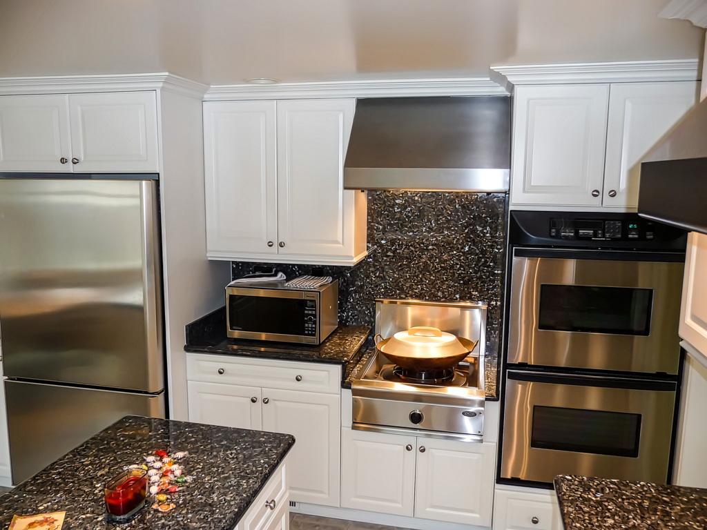 triple kitchen sink shutters built-in wok - danilo nesovic, designer · builder ...