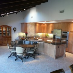 Granite Top Kitchen Table Sticky Tiles For Floor Great Room Entertainment - Danilo Nesovic ...