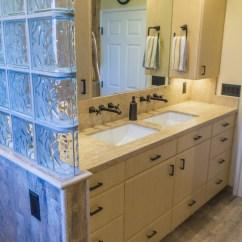 Easy Kitchen Remodel Equipment List Earthy Wood & Glass Master Bath - Danilo Nesovic, Designer ...
