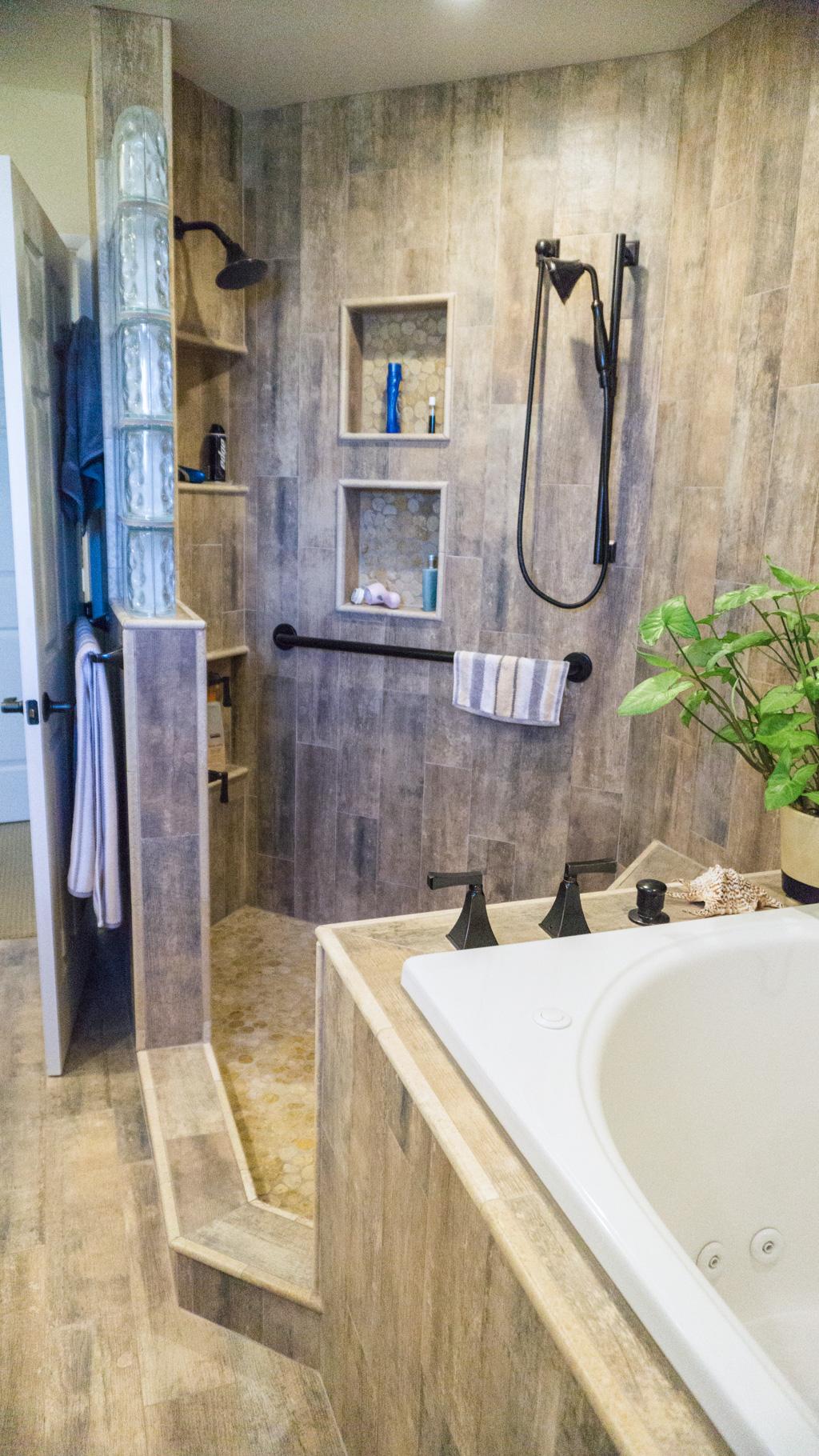 kitchen cabinet manufacturers list rehab earthy wood & glass master bath - danilo nesovic, designer ...