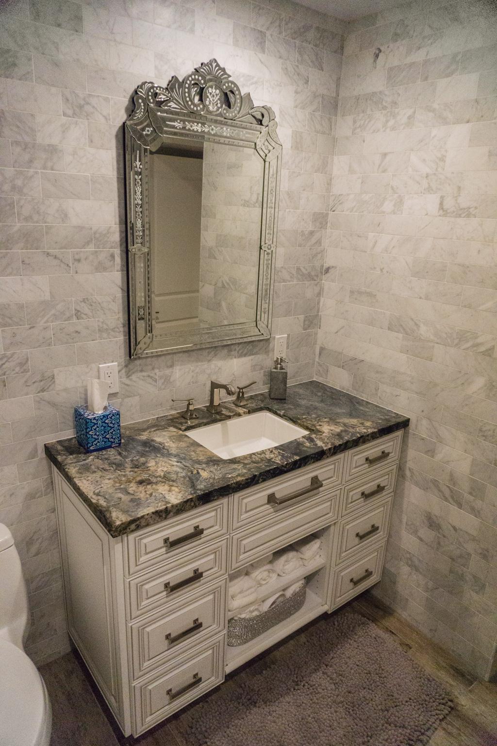 Condo On The Beach Makeover Relocated Bathroom Danilo
