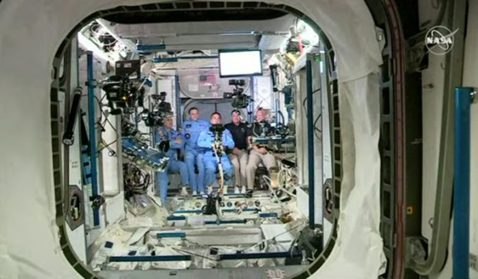 The astronauts from the SpaceX flight have worked in orbit, the next target is the moon