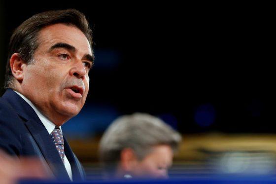 Заместник-председател на Европейската комисия Маргаритис Шинас