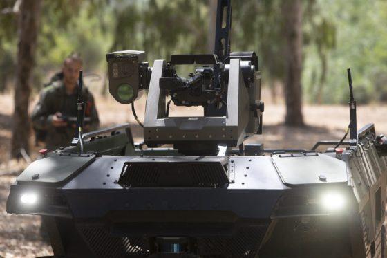 В Израел въоръжен робот може да патрулира границата
