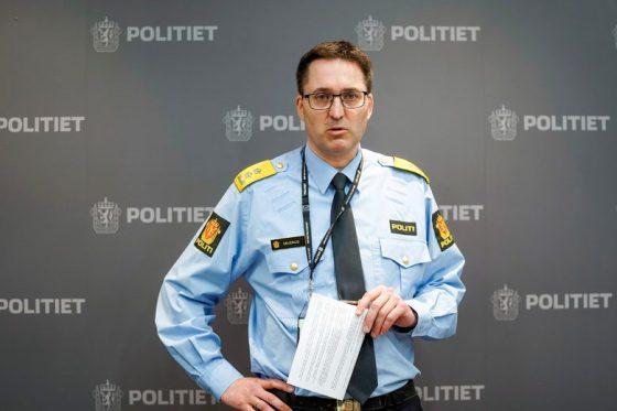Началникът на полицията в Конгсберг Оле Брадруп Северуд.