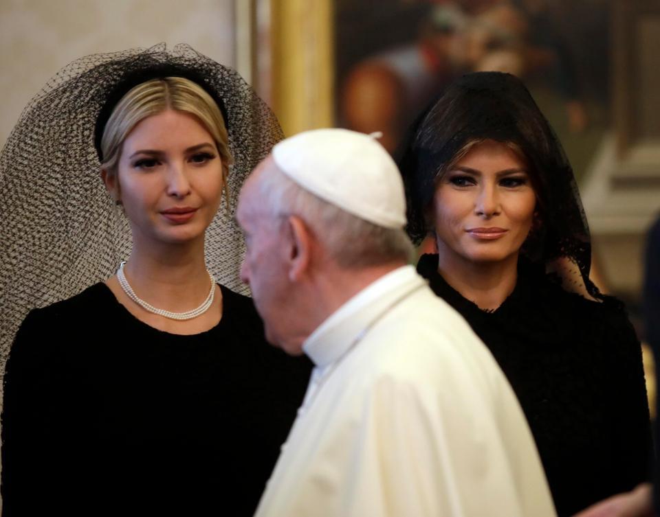 Мелания Тръмп Ватикана