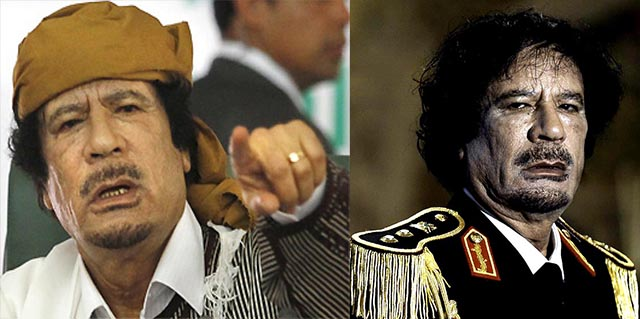 Пророчество Муаммара Каддафи.