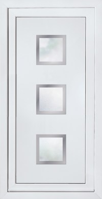 Modern Contemporary Glazed Panels, UPVC Door Panel, Door ...