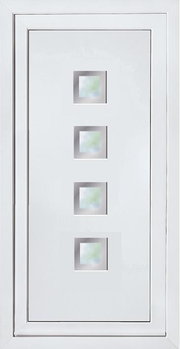 Modern Contemporary Glazed Panels, UPVC Door Panel, Door