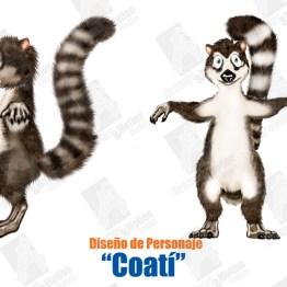 Personaje Coatí