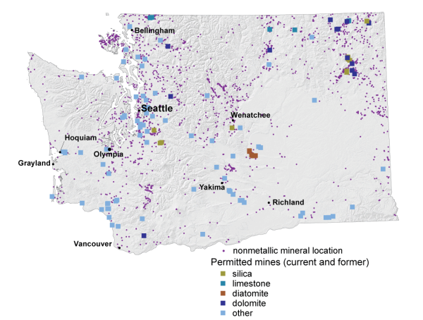 Coal Metallic and Mineral Resources WA DNR
